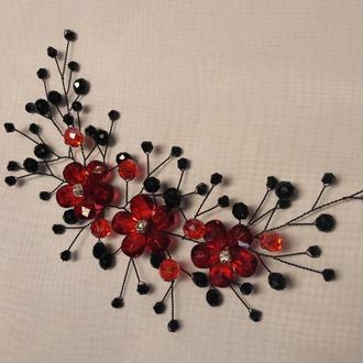 Декоративна гілочка для вечірньої зачіски