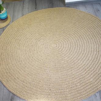 Коврик, Коврик из джута, циновка круглая (120cм)
