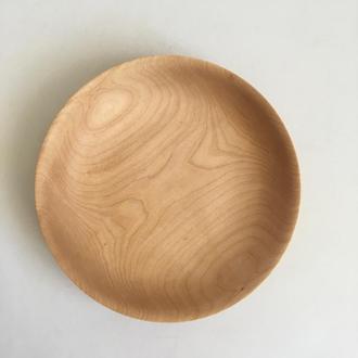 Тарілка з дерева, супниця