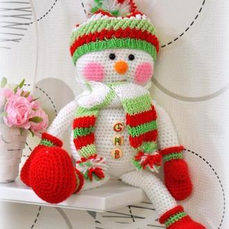 Снеговичок, 40 см