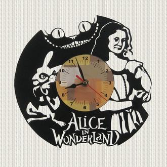 часы настенные Алиса в стране чудес Alice in Wonderland