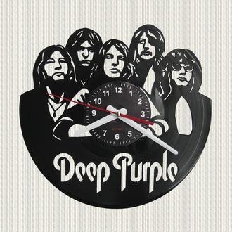 часы настенные Дип Пёрпл Deep Purple