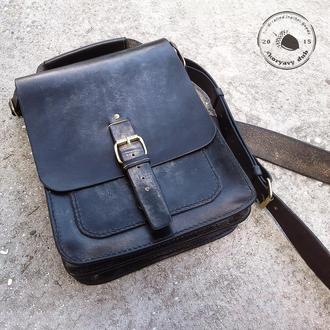 Сумка-планшет \ Мужская сумка \ Кожаная сумка \сумка через плече