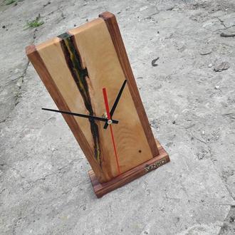 Настольные часы, дизайнерские часы, часы как декор, часы из дерева