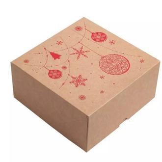 Коробка Новогодняя 165мм165мм80мм