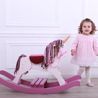 Единорог-качалка (лошадка-качалка)