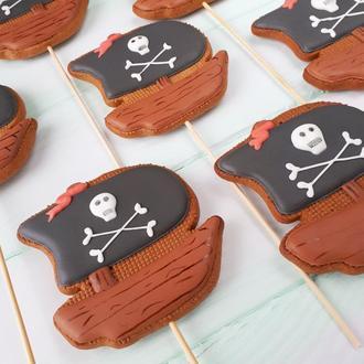 Имбирный пряник Пиратский корабль