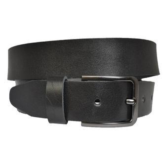 Rondo38 черный кожаный мужской ремень в подарочной коробке кожанный пояс кожа