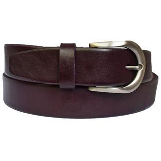 Violetta женский кожаный фиолетовый ремень под джинсы кожанный пояс кожа