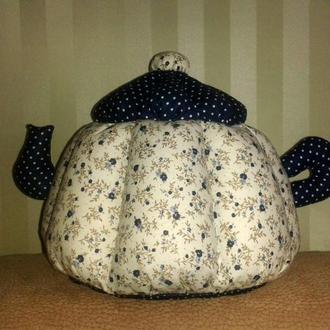 Грелка для чайника ручной работы маленькая