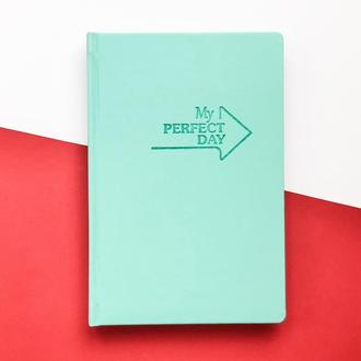 Мотивирующий Планер Planner My perfect day А5 украинский язык Мятный