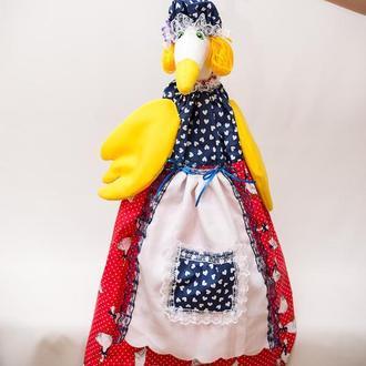 Пакетница Vikamade Гусик в платье