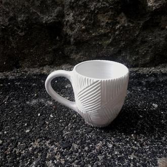 """Чашка керамічна """"Грань"""", об'єм 350мл"""