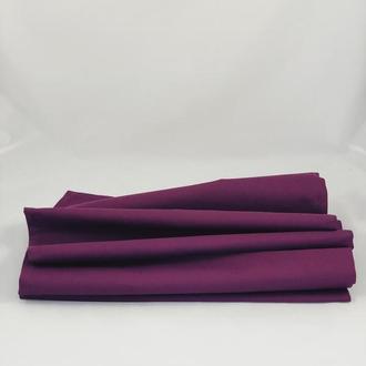 Скатерть из хлопка. Скатерть. Скатерть-раннер. Скатерть-дорожка. Фиолетовая скатерть на стол.