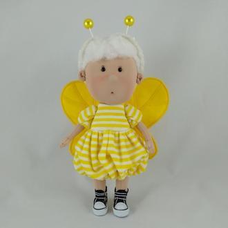 Интерьерная кукла Пчелка