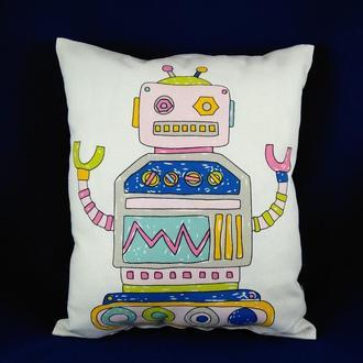 """Подушка детская """"Робот 2"""""""
