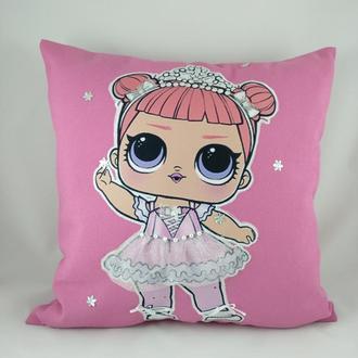 "Детская подушка ""Кукла LOL"""