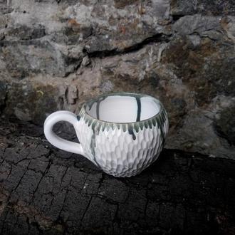 """Керамічна чашка """"Акцент"""", об'єм 250мл"""