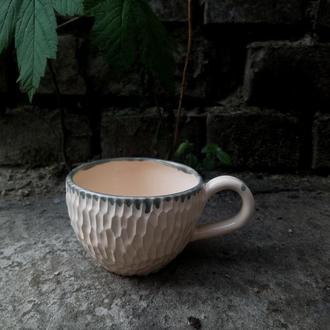 """Керамічна чашка """"Акцент"""", об'єм 230мл"""