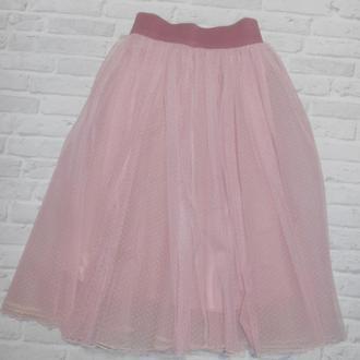 Нарядная юбка из евросетки