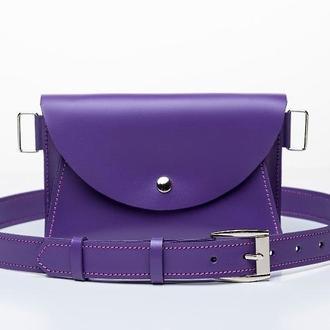Поясная сумка 2 в 1 Violet