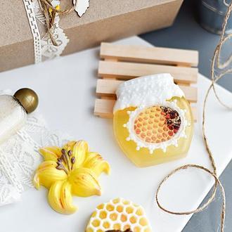 Подарочный набор сувенирного мыла Summertime Медовый