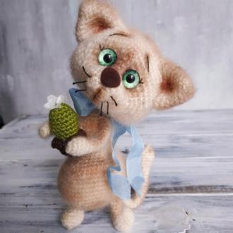 Кошка интерьерная игрушка
