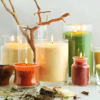 Цветные Свечи насыпные