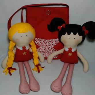 Детская сумка-переноска для куклы