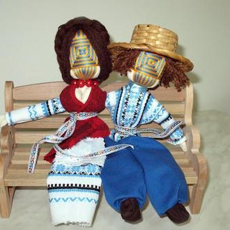 Лялька-мотанка Нерозлучники