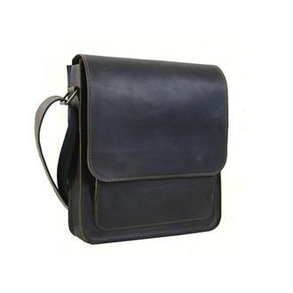 Мужская сумка на плечо из натуральной кожи