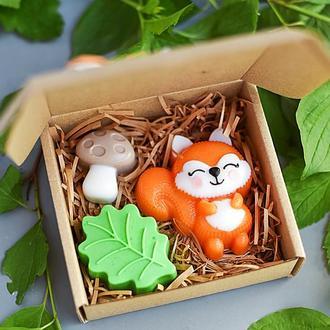 Подарочный мини-набор детского мыла Summertime Лесная история