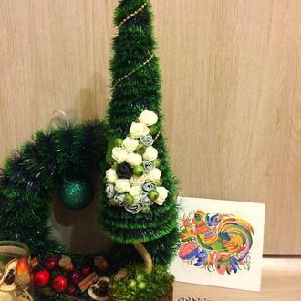 Новогодняя мини елка