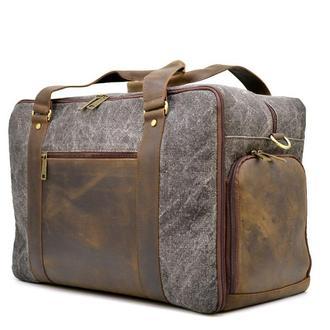 Дорожная комбинированая сумка Canvas и Crazy Horse RG-3032-4lx бренда TARWA