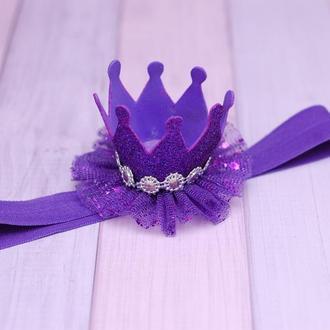 Праздничная корона для маленькой принцессы