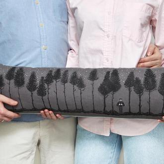 "Подушка для двоих ""Лес"""