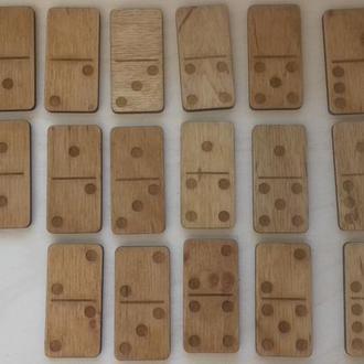 Домино из дерева , домино, изделия из дерева ,настольные деревянные игры.