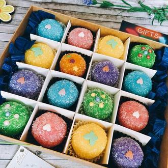Подарочный набор аппетитных сахарно-солевых скрабов
