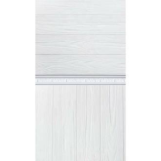 Белый фотофон стена пол