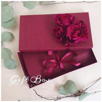 Gift box «Mona» цвет 2 - открытка в коробочке