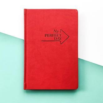 Мотивирующий Планер Planner My perfect day А5 русский язык Красный