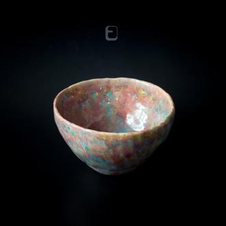 Work no. 332W — PurBl.Ais6.M, tea bowl in japanese style