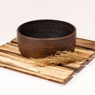 Салатник або форма для випікання.  Еко посуд