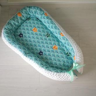 Кокон для ребенка (гнездышко, бебинест) Bears&Foxes