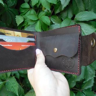 Чоловічий гаманець з натуральної шкіри