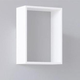 Модульная полочка, белая