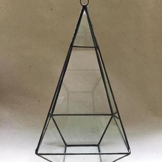 Террариум Призма,Геометрический Подсвечник или Цветочный горшок