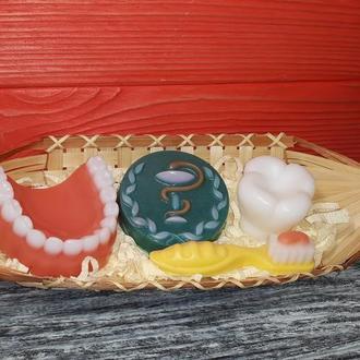 """Подарочный набор мыла """"Стоматологу"""" вариант 3"""