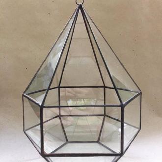 Подвесный Террариум, Стеклянный террариум, Геометрический террариум для растений