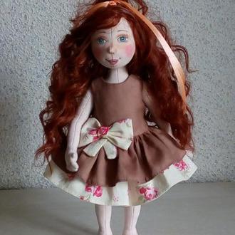 текстильная кукла.